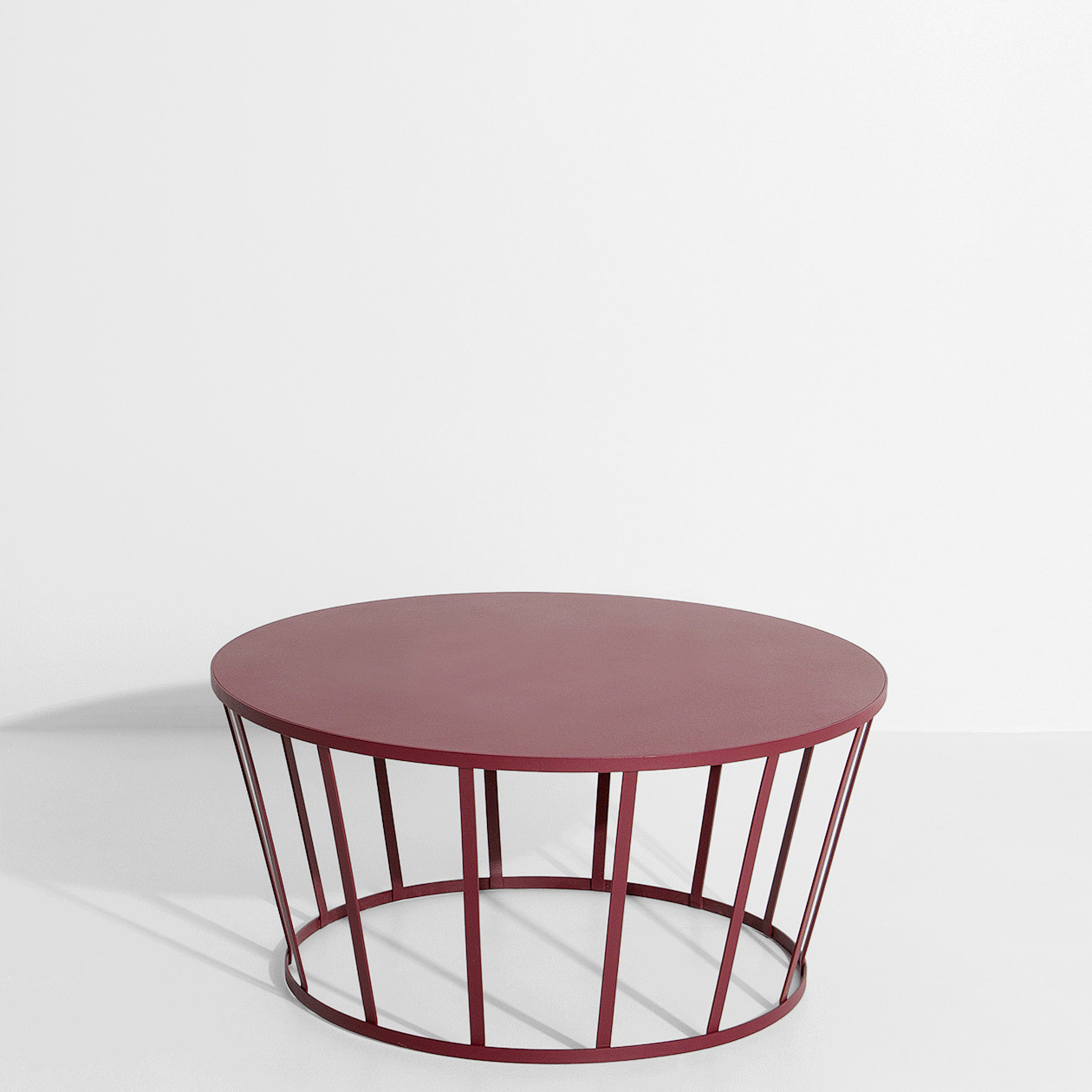 Table basse HOLLO BORDEAUX