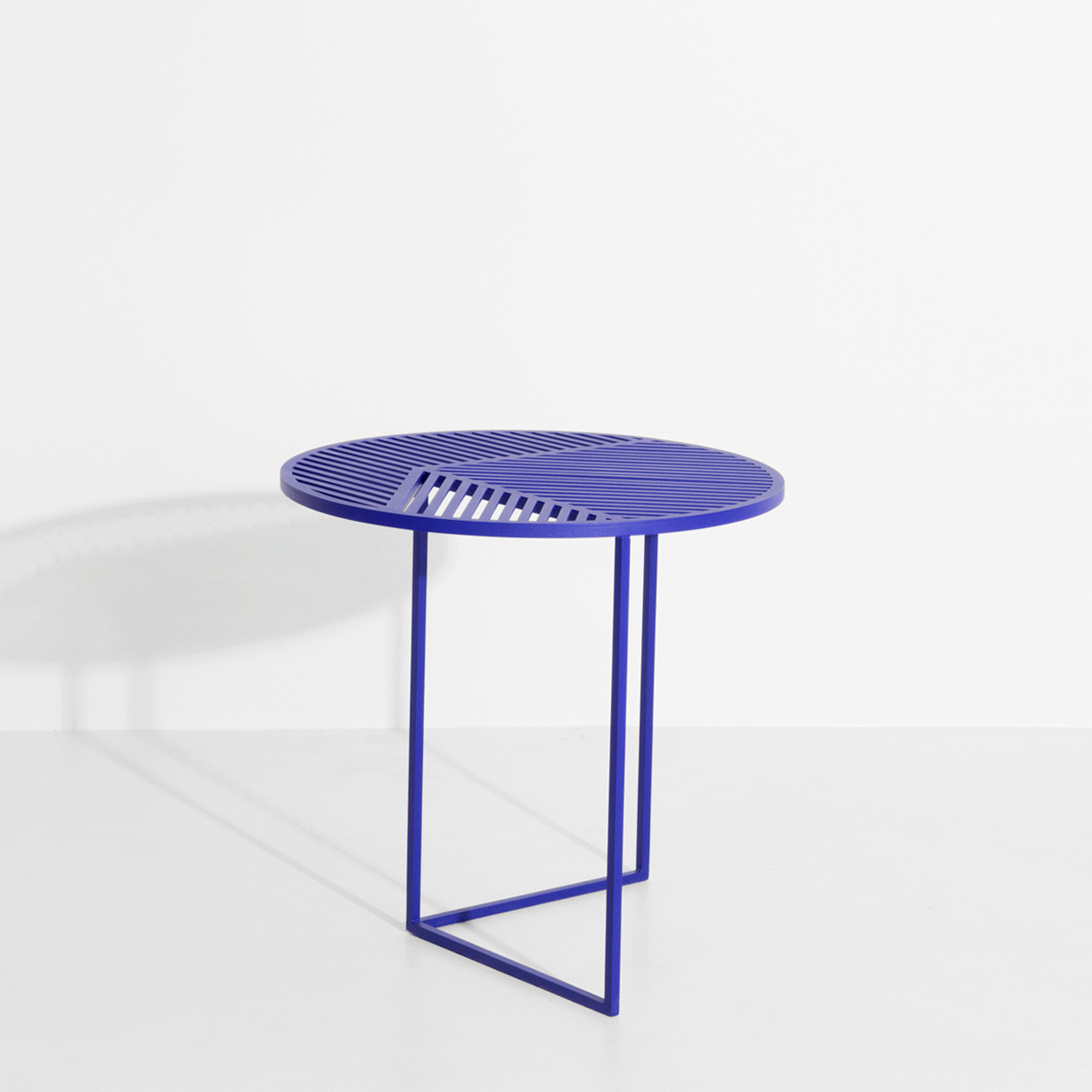 Table d'appoint ISO A bleue