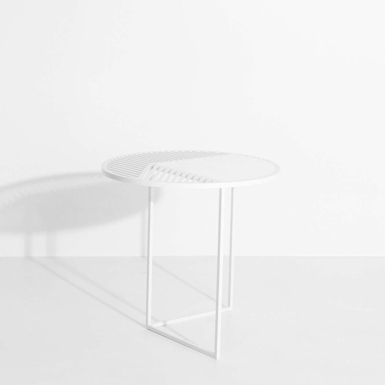 Table d'appoint ISO A Blanche