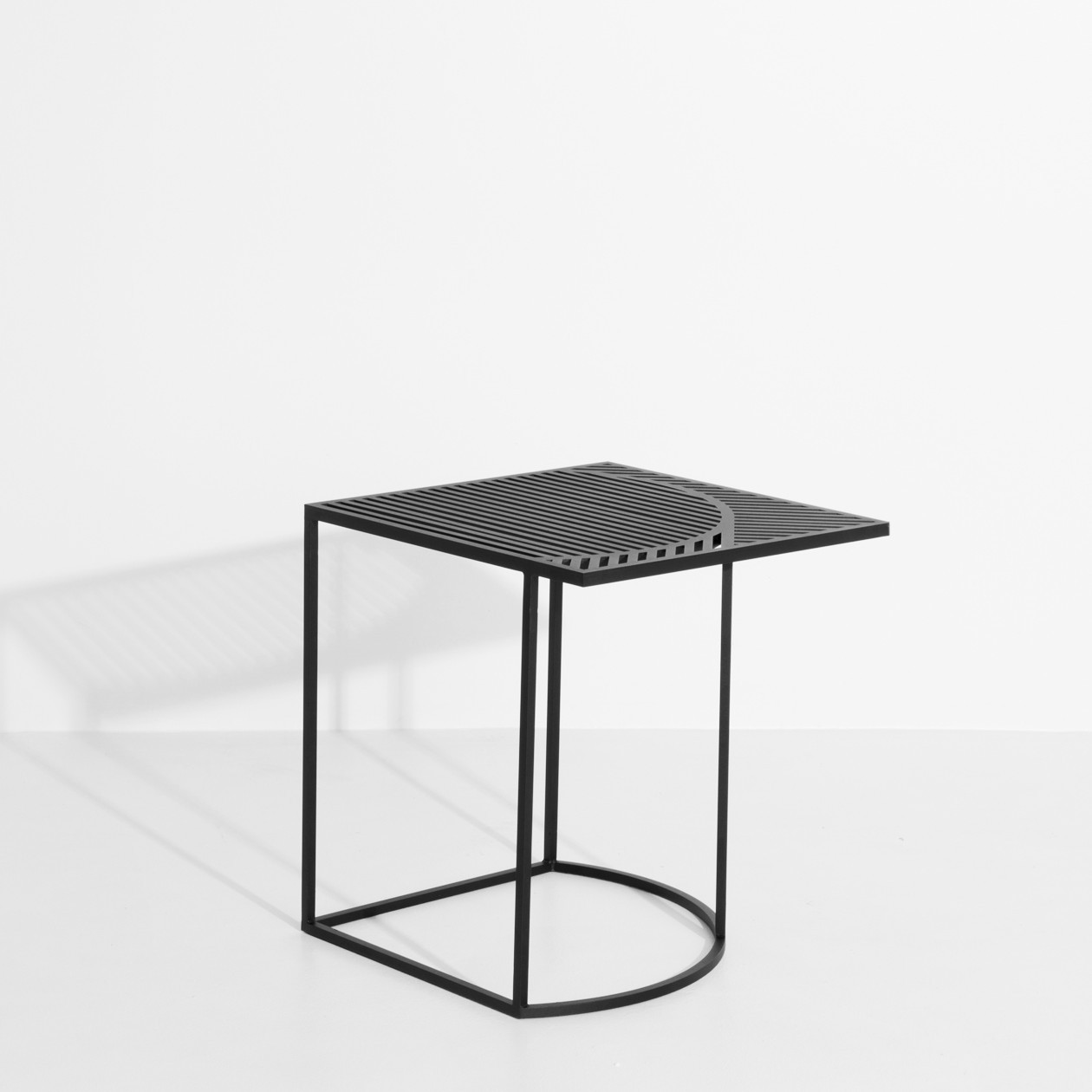 Table d'appoint ISO B noire