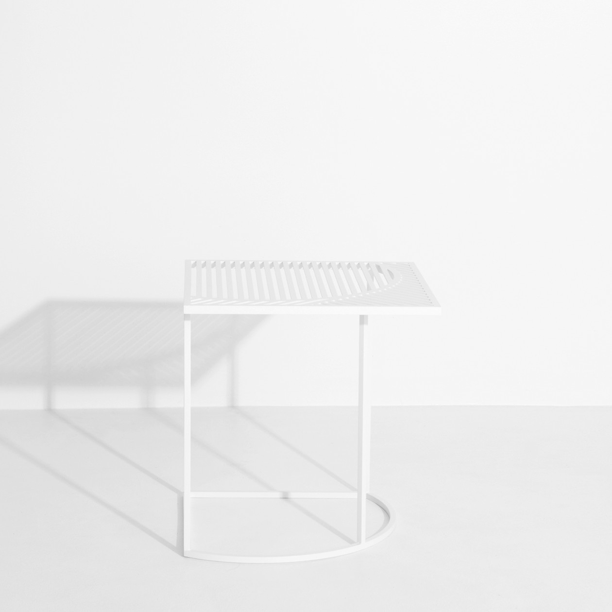 Table d'appoint ISO B Blanche