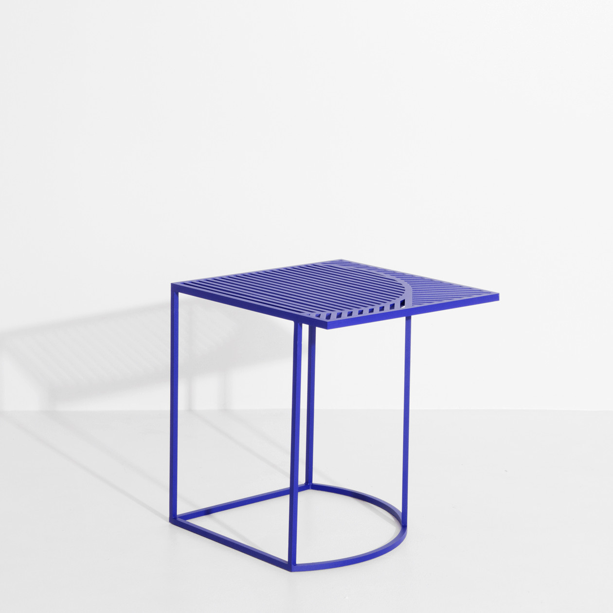 Table d'appoint ISO B Bleue