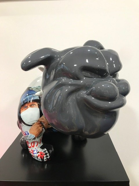 VEGAS BULLDOG HELMET Mc Queen