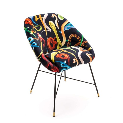 CHAISE REMBOURREE SNAKES