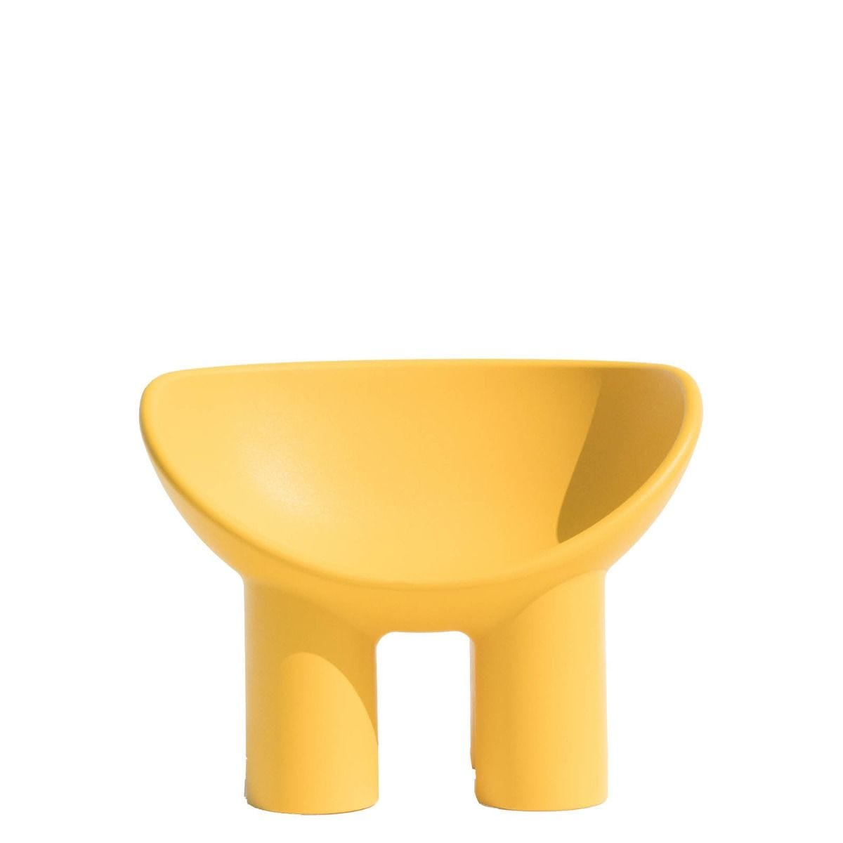 ROLY POLY Fauteuil jaune ocre