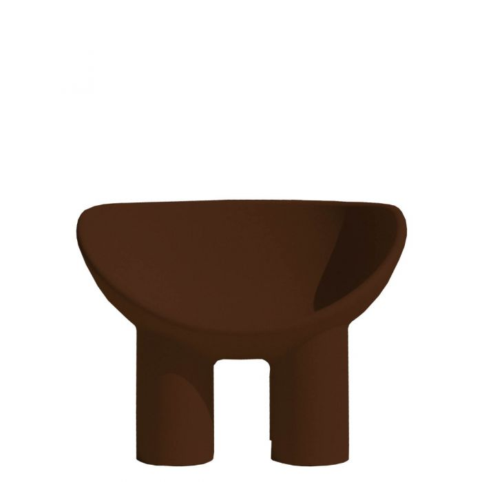 ROLY POLY Fauteuil marron